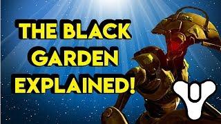 The Black Garden explained! Destiny 2 Shadowkeep | Myelin Games