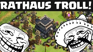 RATHAUS TROLL! || CLASH OF CLANS || Let's Play CoC [Deutsch/German HD]