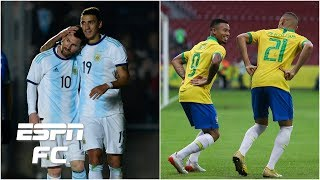 Are Messi's teammates good enough to win Copa America?  Will Brazil shine without Neymar? | ESPN FC