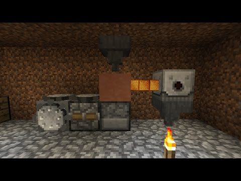 S09E02 ATM - Smelting Copper and Setting up Shop