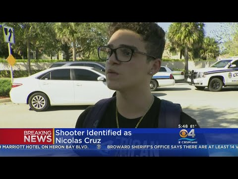 Digital Update: Student Talks About Shooter Nicolas Cruz Who Was 'Troubled', Had Multiple Guns