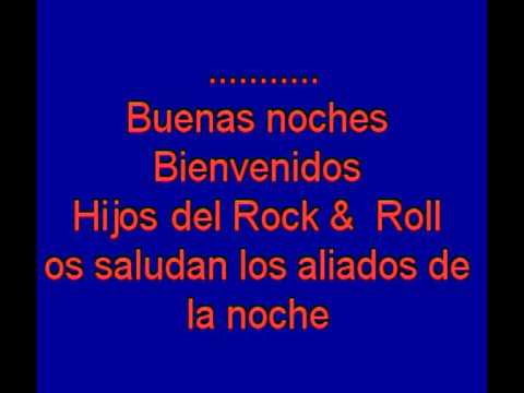 Bienvenidos  -  Miguel R¡os -  karaoke   Tony Ginzo