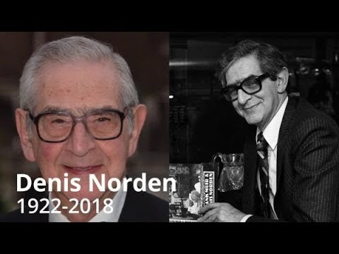 RIP Denis Norden INTERVIEW & LIFE STORY -  Died 18th Sept 2018 - It'll Be Alright On The Night /