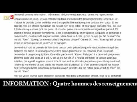 PKP News 2: Arrestation sans motifs du Prophète Kacou Philippe.