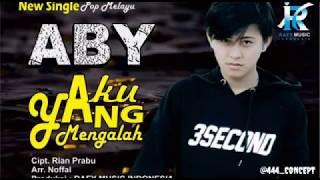 Pop Melayu Aby Rr, Bujang Prabumulih Berjudul aku Yang Mengalah Cipt. Rian Pra