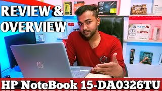 HP Notebook-15-DA0326TU | Full Review and Benchmarks | Intel Core i3 7th gen