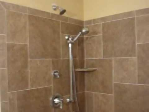 Custom Tile Shower Stall done in Rochester NY - YouTube