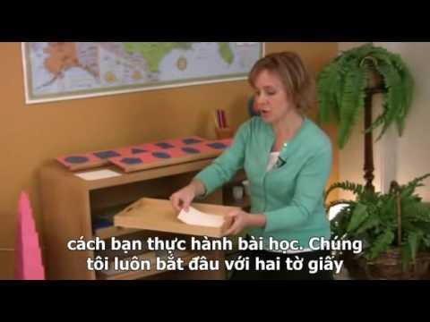 Montessori Language Lesson: Metal Insets