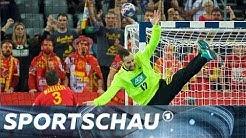 Handball-EM: Deutschland gegen Mazedonien - die Schlussphase | Sportschau