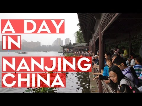 A DAY IN NANJING CHINA - DRAGON BOAT FESTIVAL