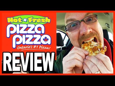 Pizza Pizza ★ Chipotle Chicken Pizza Review | KBDProductionsTV