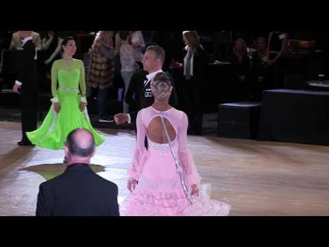 Alexandru Munteanu & Anya Sheedy USA Dance Nationals 2018 Amateur Adult Standard Final.