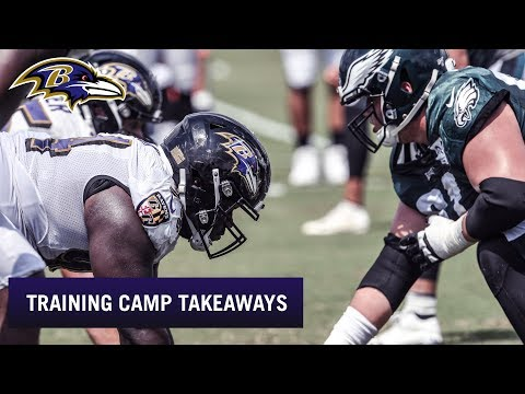 Top Takeaways From Ravens-Eagles Joint Practices | Baltimore Ravens