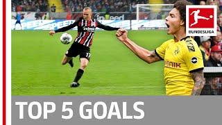 Witsel, Waldschmidt, Nkunku & More - Top 5 Goals on Matchday 7