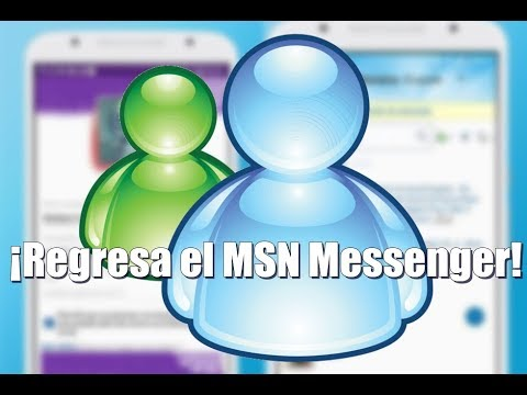 ¡Regresa El MSN Messenger! - Con Chat Live Messenger