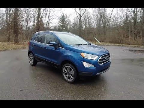 Ford Ecosport Titanium Xwalk Around Videoin Depth Review