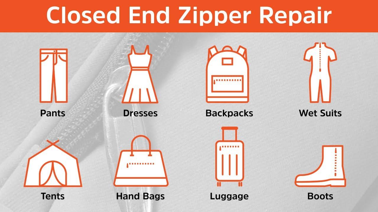 How to repair a broken zipper. For tents backpacks luggage boots and more & How to repair a broken zipper. For tents backpacks luggage ...