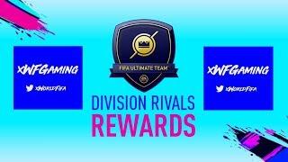 FUT DIVISION RIVALS REWARDS!! DIVISION 5 - RANK 2 (FIFA 19) (LIVE STREAM)