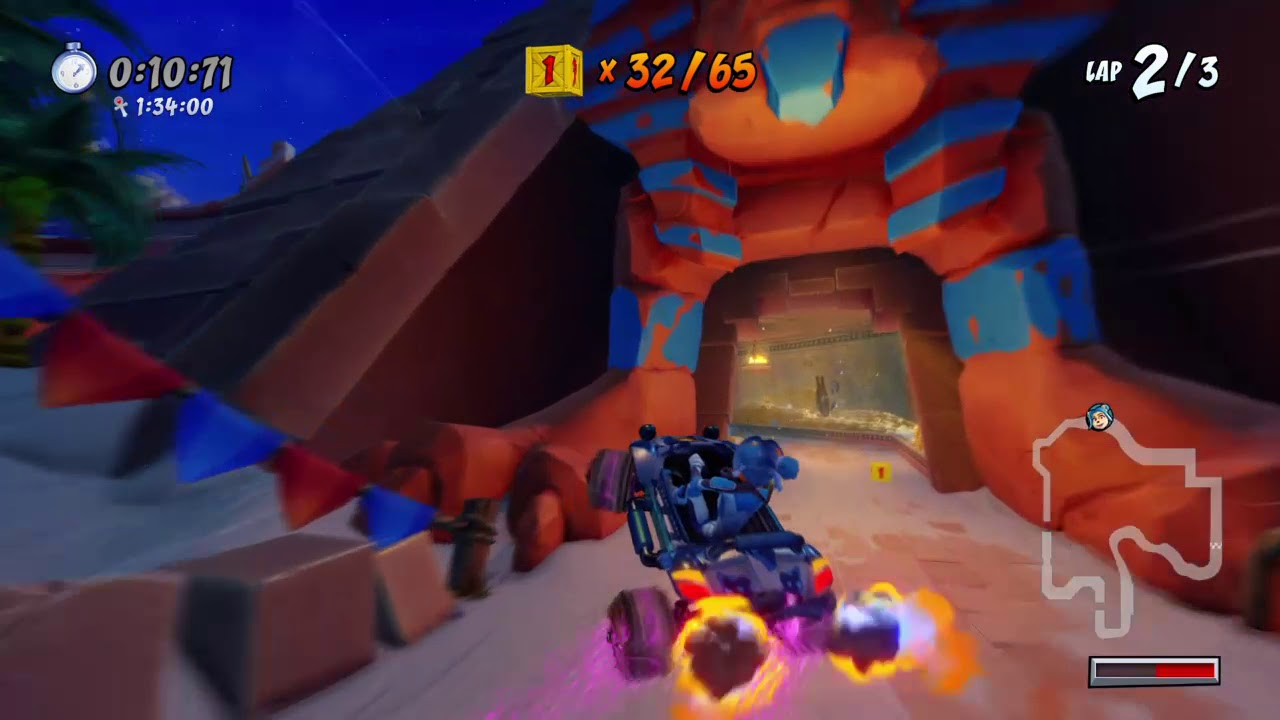 Twilight Tour Relic Race in 0:41:77 [FWR] - CTR Nitro Fueled