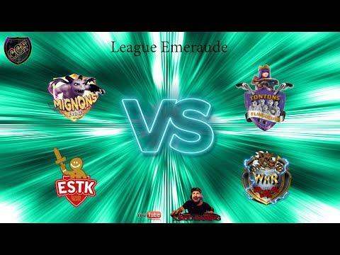 CCF League emeraude Elsass Tolvek vs WNR - Mignon events vs TT flingueurs