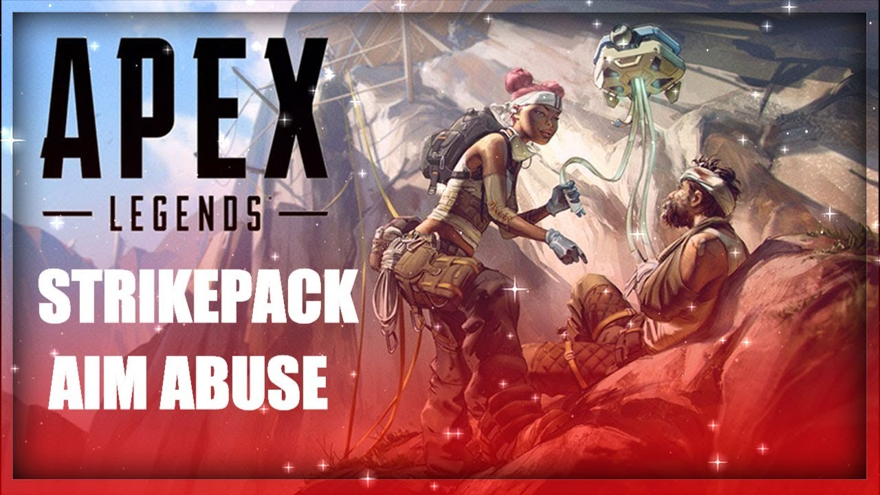 APEX LEGENDS STRIKEPACK FPS DOMINATOR AIM ABUSE TUTORIAL (PS4, XBOX ONE)