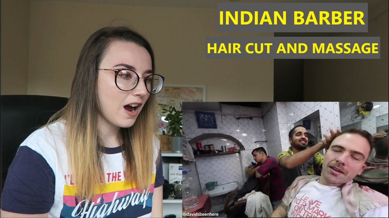 INDIAN Haircut and Head Massage Experience