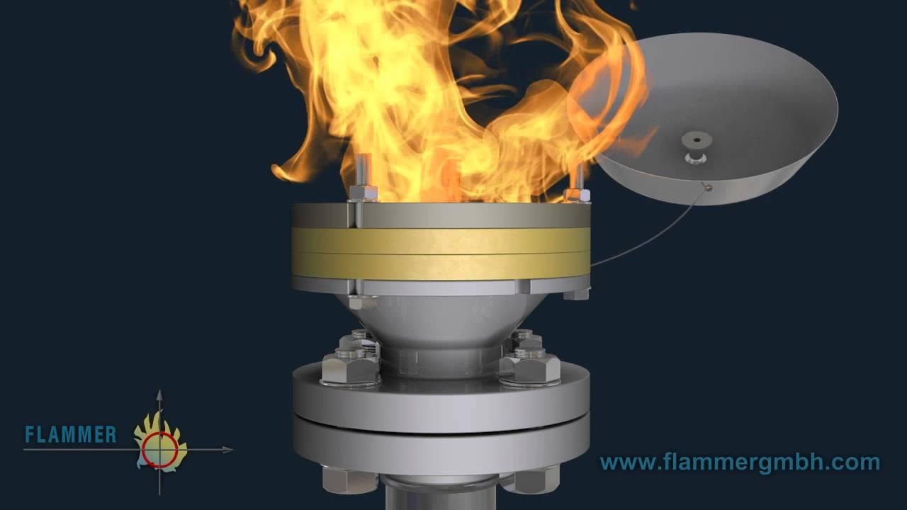 Flame Arrestor For Endurance Burning Storage Tank Is