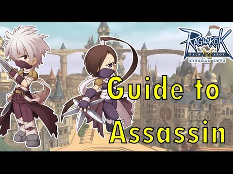 Ragnarok M: Basic Guide To Assassin! Stat Skill And Items