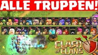 ALLE TRUPPEN!    CLASH OF CLANS    Let's Play CoC [Deutsch/German HD+]
