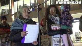 Free Fayez Sharary - British national tortured & caged by Israel 18 Nov 2016 [Inminds]