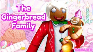 The Bloxburg Gingerbread Family Moves To Unicorn City (Roblox Roleplay Story)