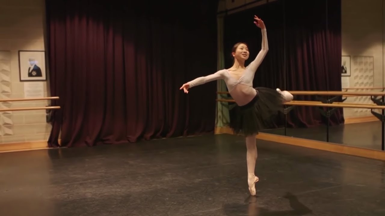 Nutcracker: Rina Kanehara in rehearsals | English National Ballet
