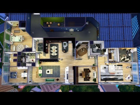 Sims 4 Speed Building: Reformed 1010  Alto Apartments