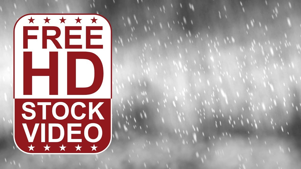 FREE HD themed title backgrounds – winter scene snow storm ...