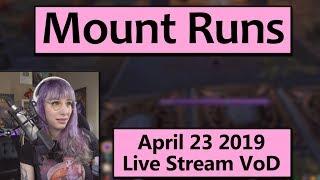 Throne of Thunder Mount Runs - April 23 Live Stream VoD