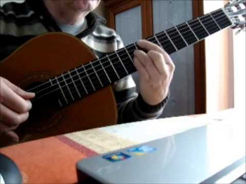 the shadow of your smile easy guitar - YouTube