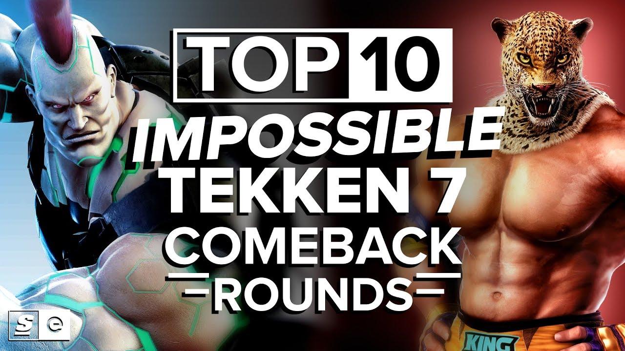 Download The Top 10 Impossible Tekken 7 Comeback Rounds