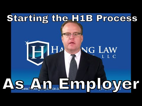 How does an employer get the H1b process started? - Hacking