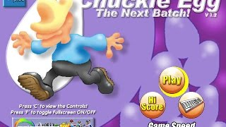 Chuckie Egg - The Next Batch! Review for the PC by John Gage