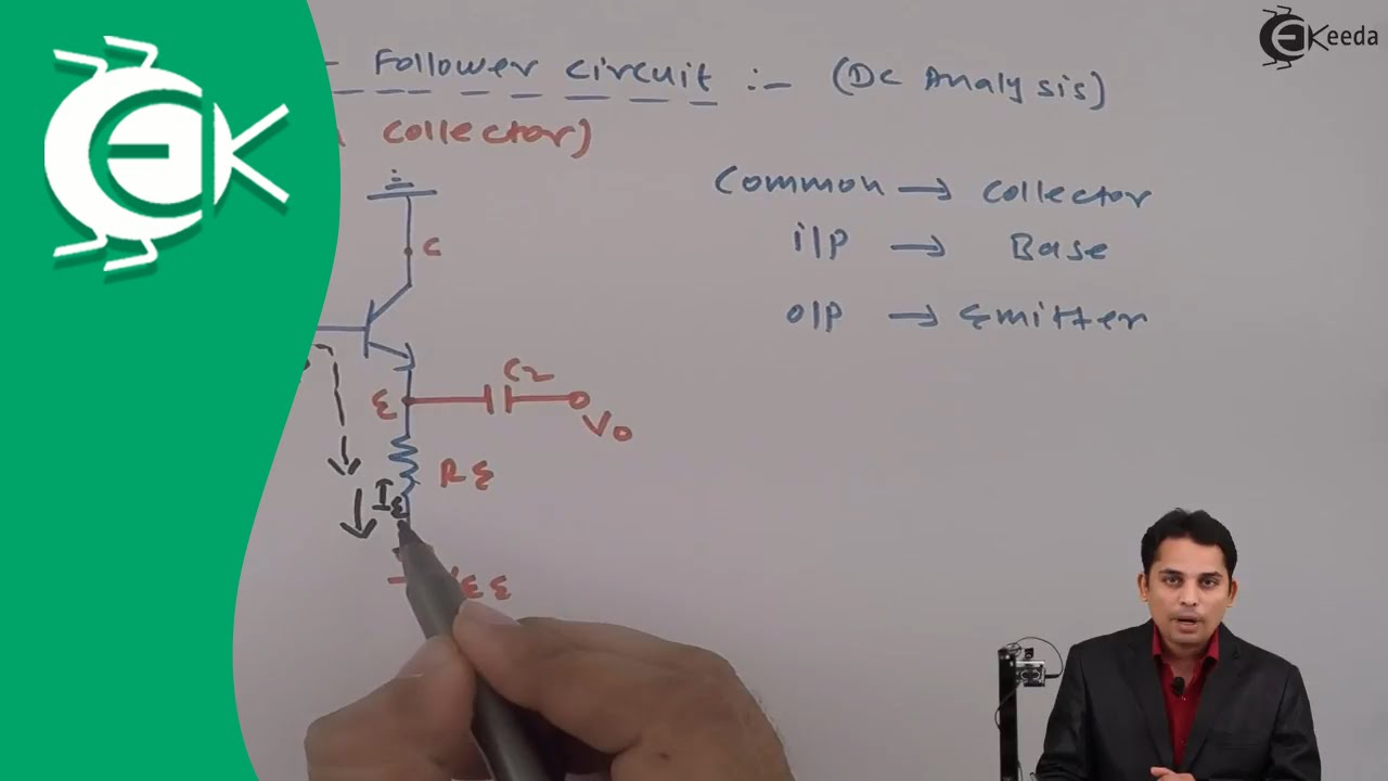 Emitter Follower Circuit Common Collector Configuration Bipolar Tutorial Part 3 Commoncollector Amplifiers Sample Circuits Bipolarjunctiontransistorconcept Bipolarjunctiontransistor Bipolarjunctiontransistorvideo
