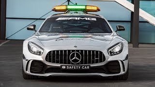 Mercedes AMG GT R is F1's new 2018