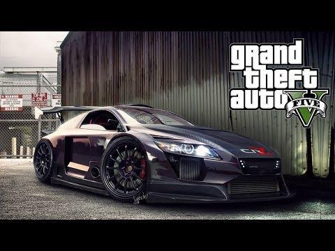 STUNT AVEC LA VOITURE LA PLUS RAPIDE DE GTA 5 ! +Le pnj le plus chanceux jamais vu