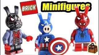 LEGO Spider-Man and Avengers Custom Minifigures