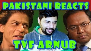 Pakistani Reacts to Barely Speaking With Arnub FT Shahrukh Khan