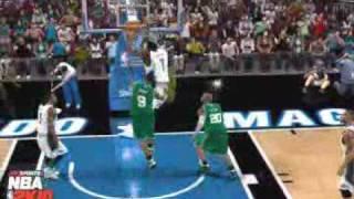 NBA 2k10 360 dunk