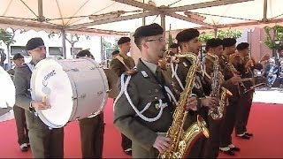 Bari, Festa della Repubblica 2014, Banda della Brigata Pinerolo, 4 Maggio