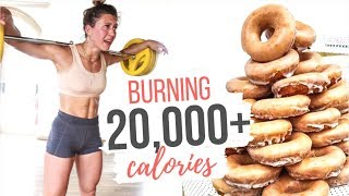 "CAN YOU UNDO A ""BAD"" DIET? Calorie Burn Challenge!"