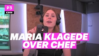 Maria anklagede chef | Curlingklubben