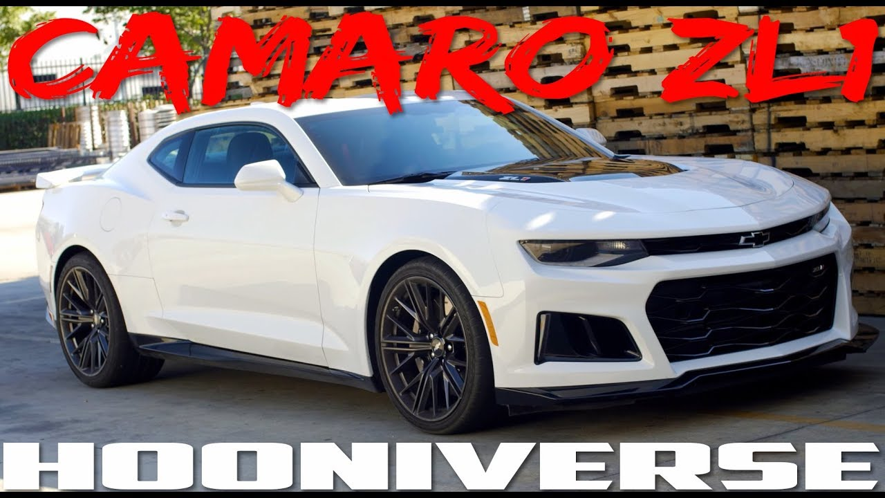 2018 Chevrolet Camaro Zl1 American Muscle That Out Sports More