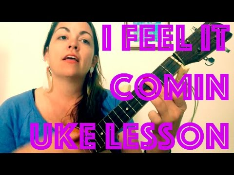 How to Play I FEEL IT COMING Easy Ukulele Lesson The Weeknd Daft Punk Chords Strum Tutorial